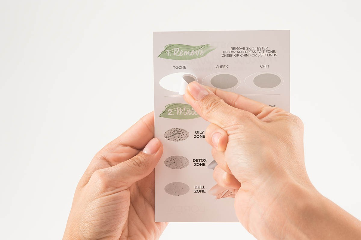 Skin Type Test L'Oreal - Remove of T-Zone | USP Solutions