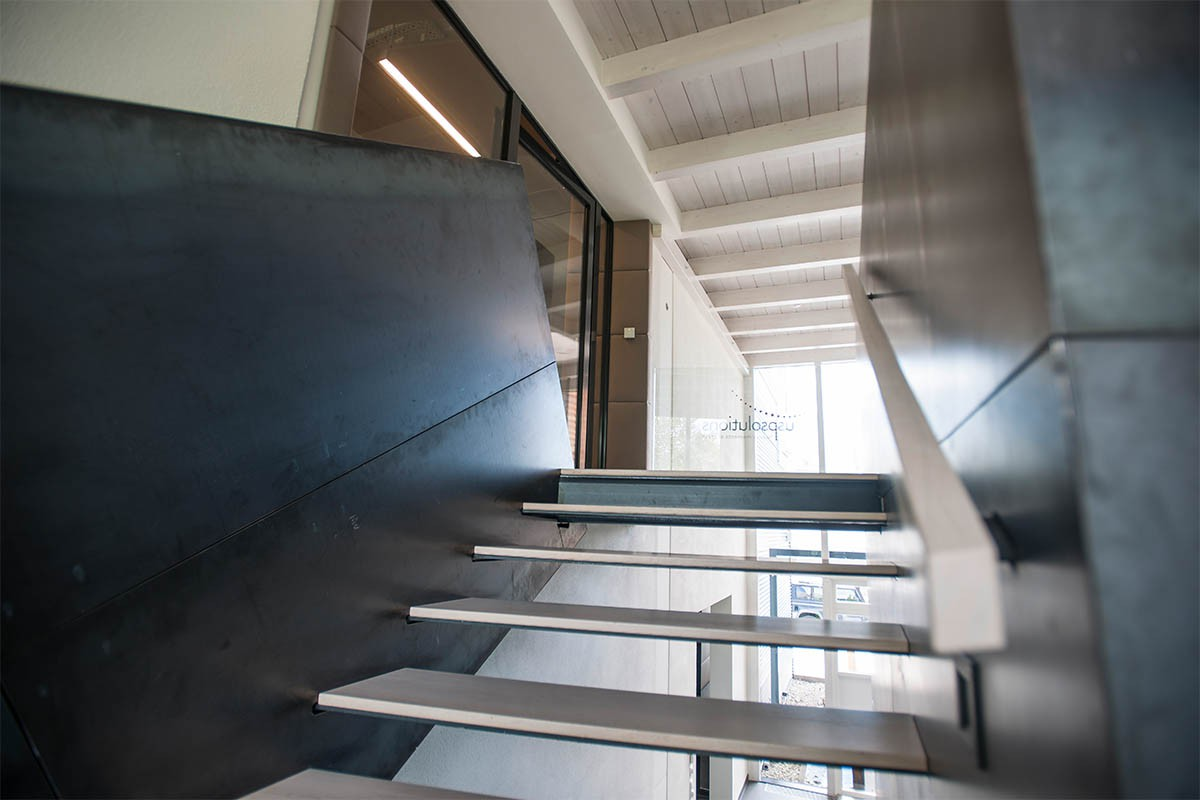 Cosmetics Industry, Beauty Industry - Stairs in Office | USP Solutions