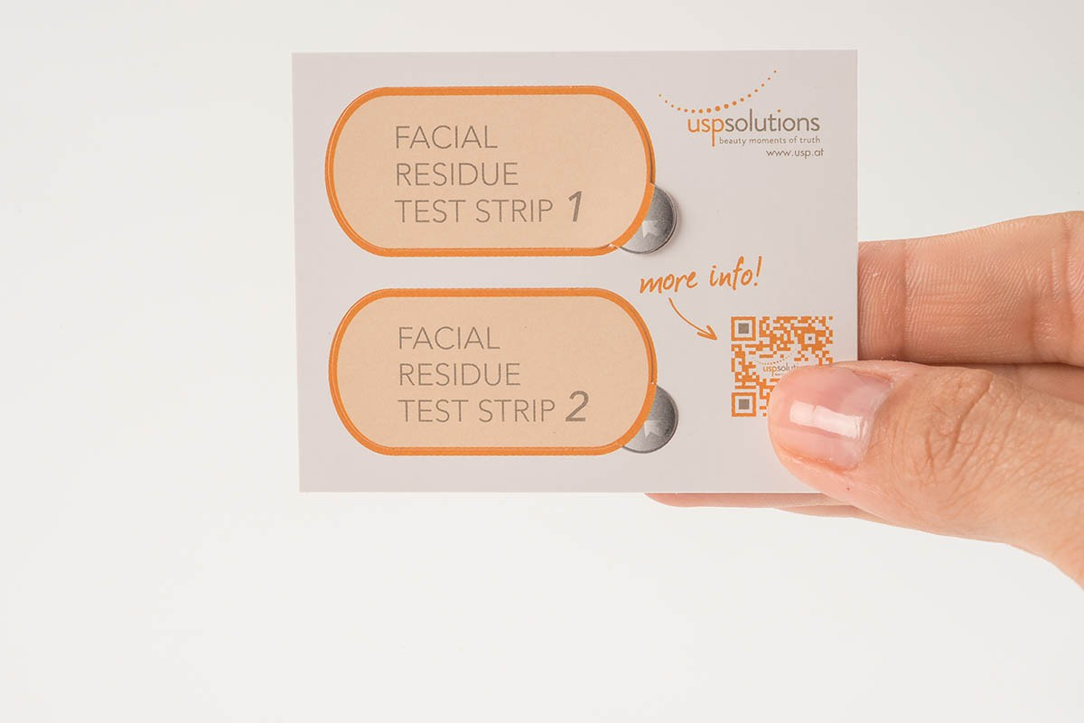 Facial Residue Test | USP Solutions