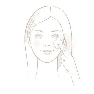Facial Residue Test - Step 2 - Clean skin | USP Solutions