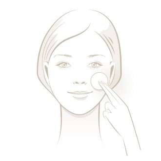 Acne risk Test - Clean face - Step 1 | USP Solutions