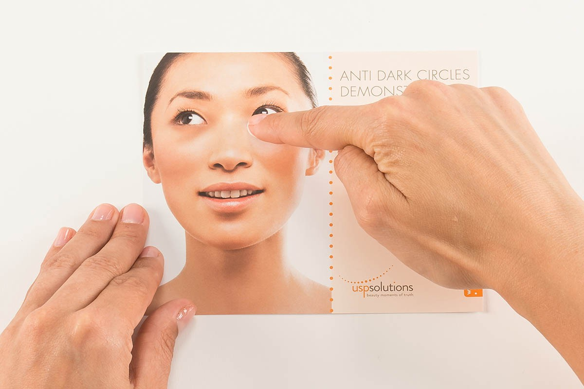 Brand Activation - Anti Dark Circles Demonstrator | USP Solutions