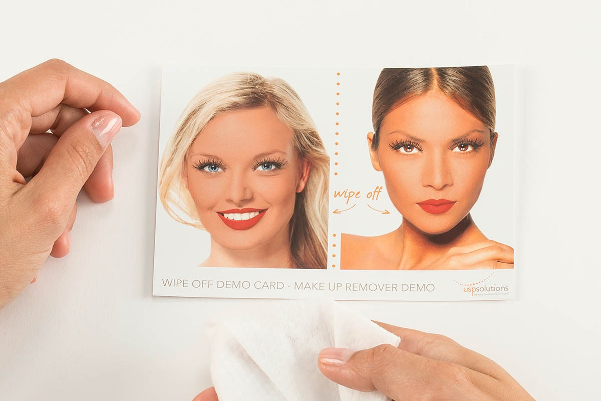 Make-Up Removal Demo Tool | USP Solutions
