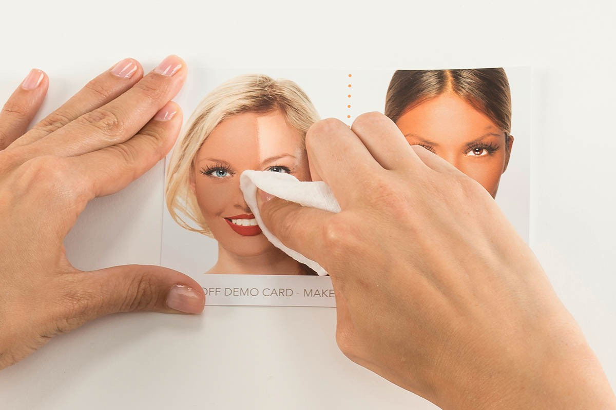 Make-Up Removal Demo Tool - remove make up woman face | USP Solutions