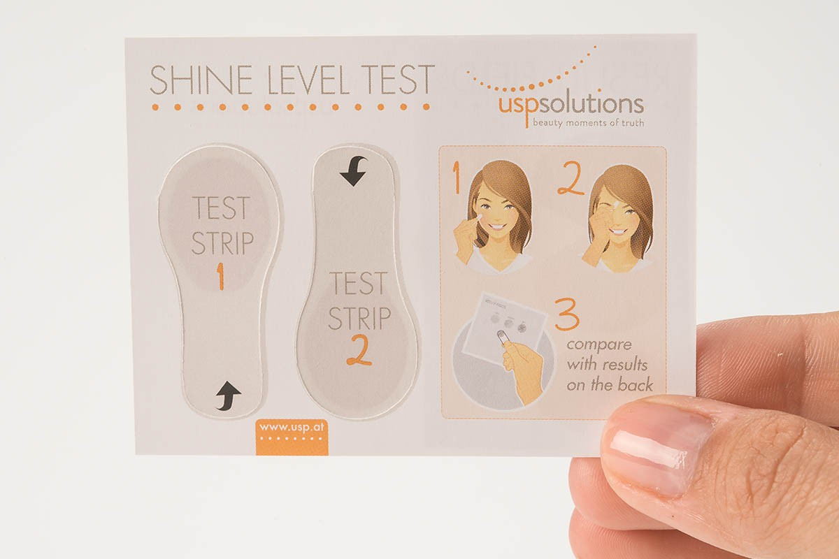Brand Activation - Shine Level Test - Test Strip 1 and 2 | USP Solutions