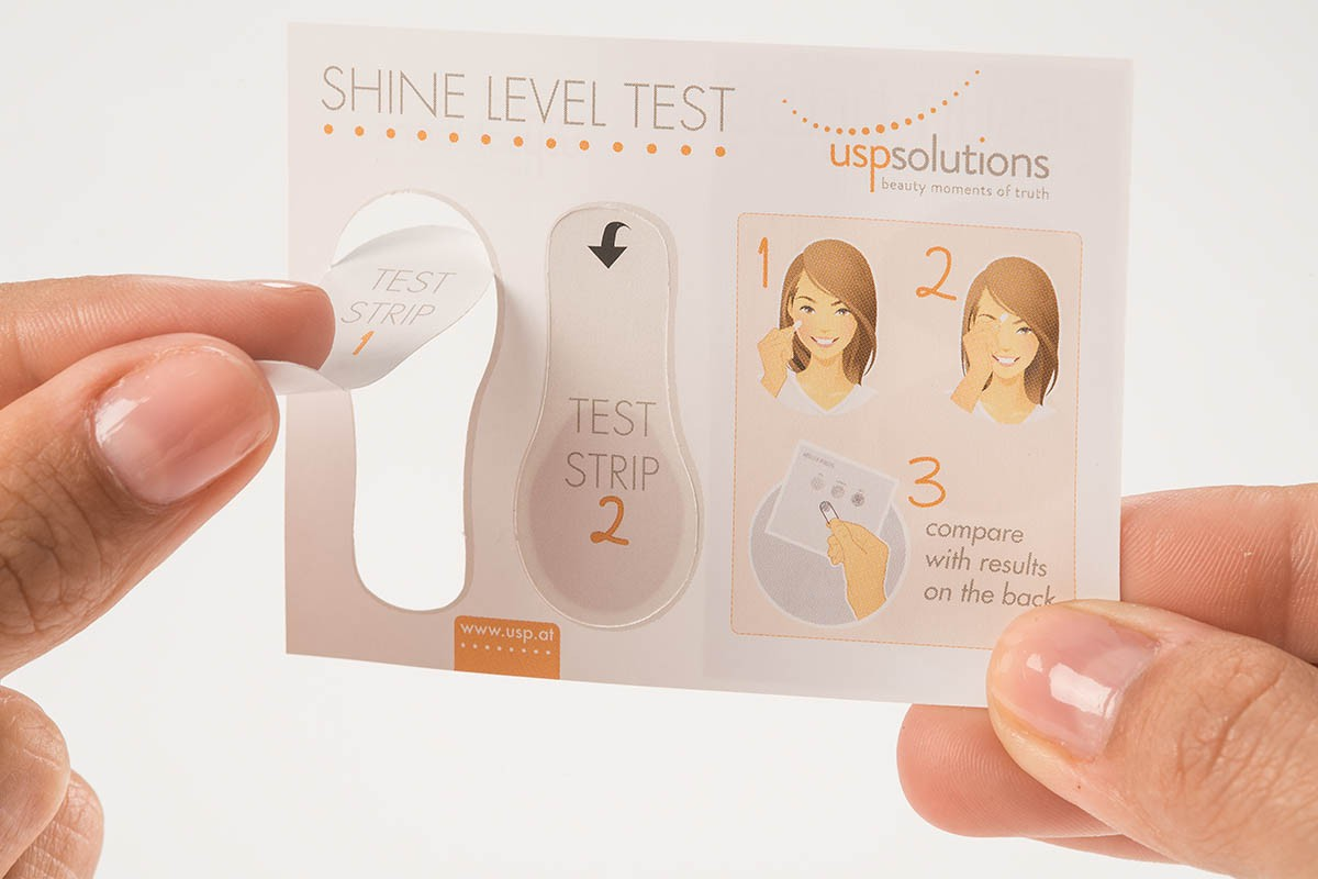 Brand Activation - Shine Level Test - Peel of strip | USP Solutions