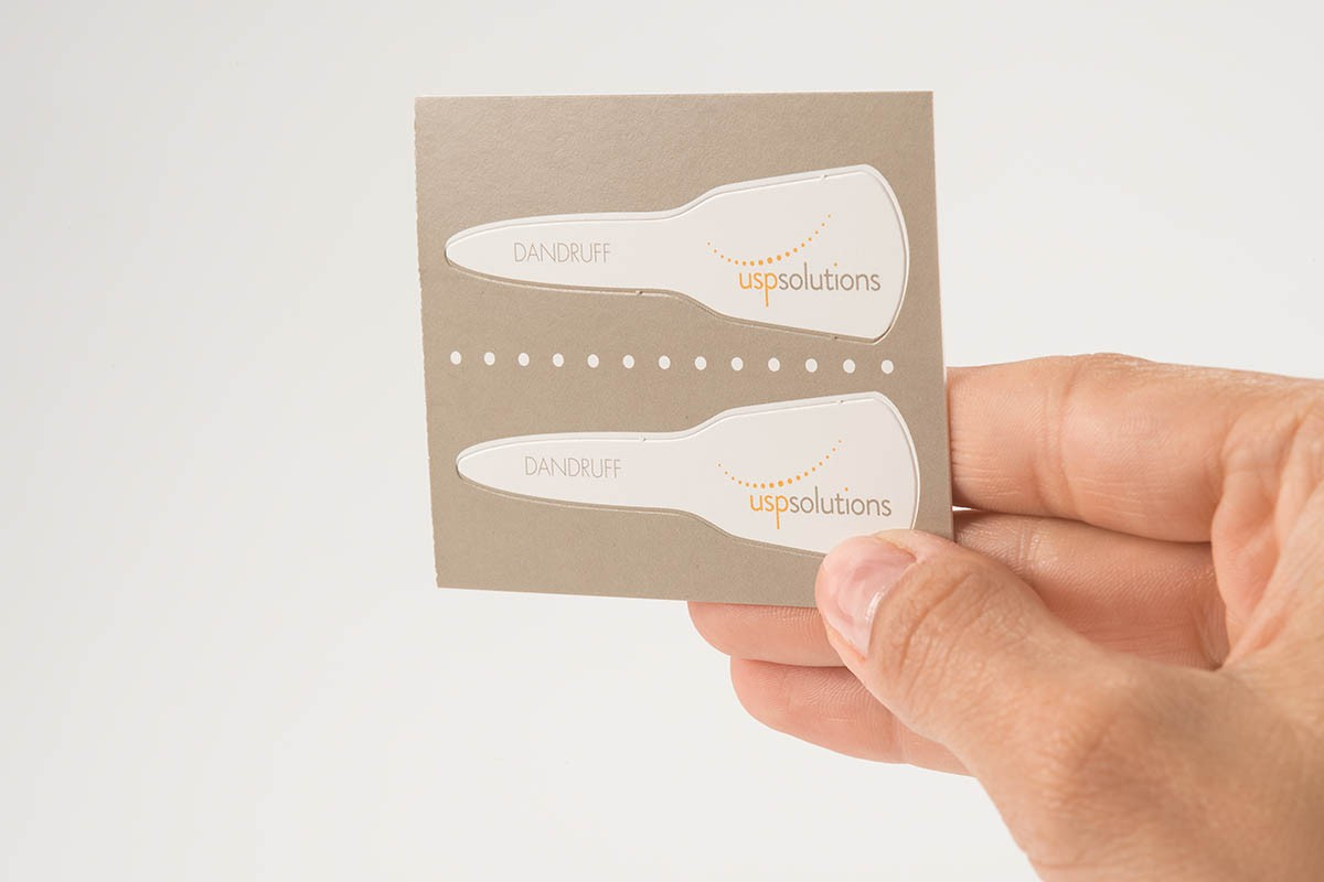 Brand Activation - Dandruff Test Strip | USP Solutions