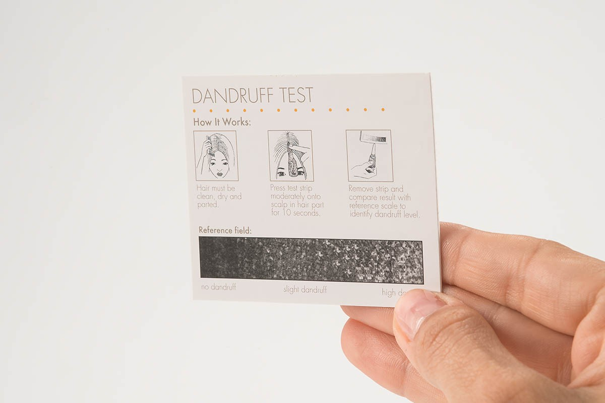 Brand Activation - Dandruff Test | USP Solutions