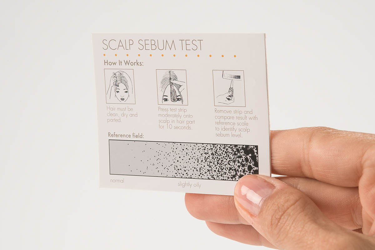 Scalp Sebum Test - How it works | USP Solutions