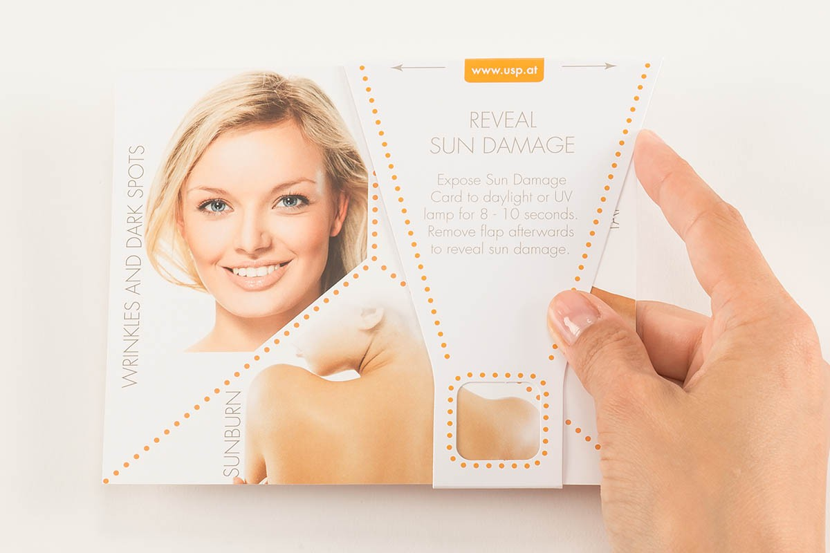 Reveal Sun Damage Test - Usage | USP Solutions