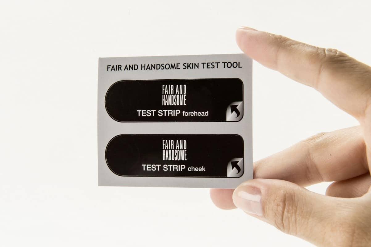 emami - skin type test