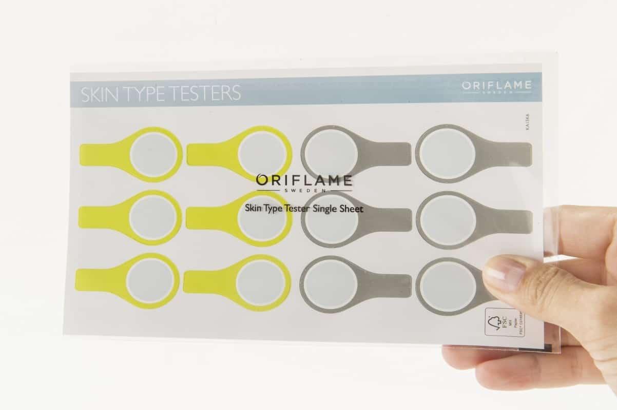 Oriflame Skin Type Test